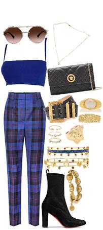 blue/gold Ver