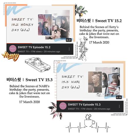 BITTER-SWEET [비터스윗] Sweet TV 15.2-15.3