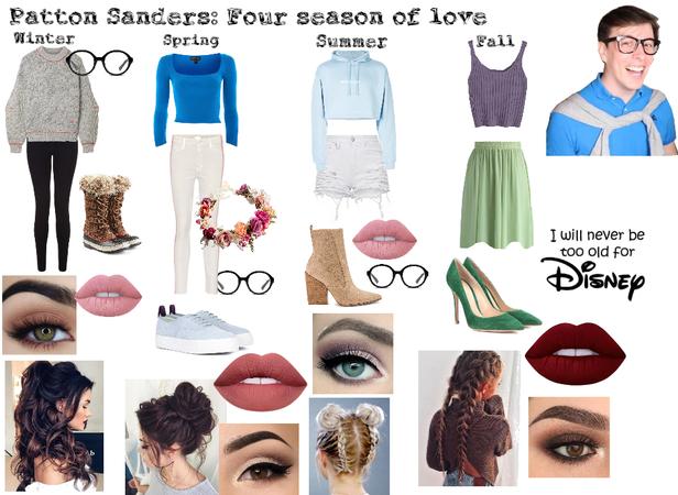 Patton Sanders: Four seasons of love