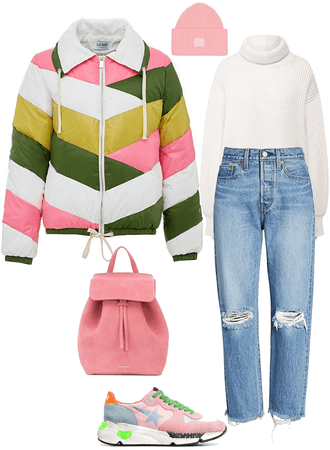 Casual Winter Pink