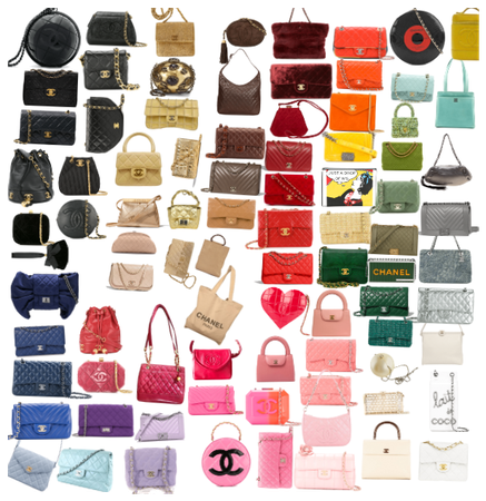 _Chanel vintage colors collection_