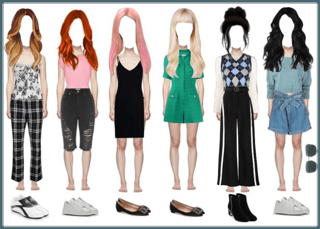 BlackPink 5th member airport fashion set
