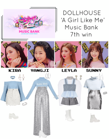 {DOLLHOUSE} Music Bank 'A Girl Like Me' 7th win