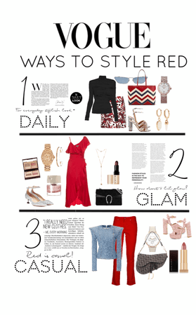 Ways to Style Red