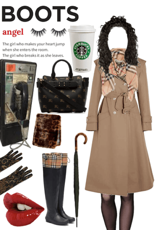 Look #77: she means business