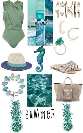 Summer beach look😍😍🤤