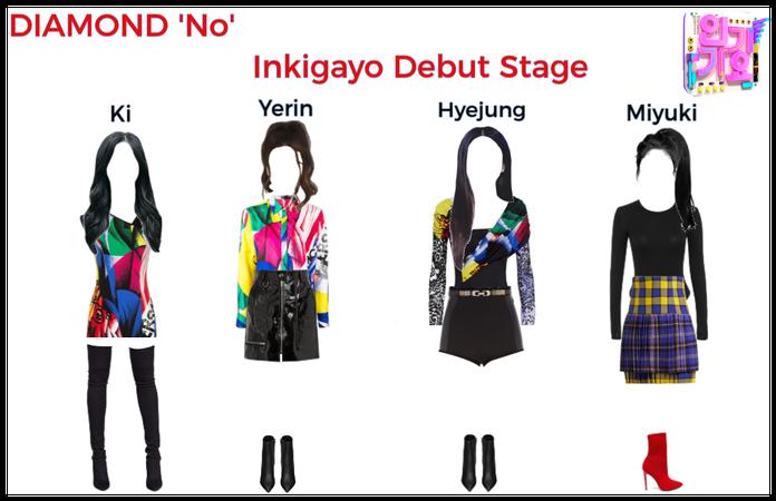 DIAMOND Inkigayo Debut Stage