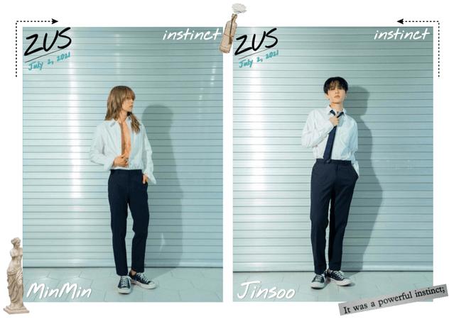 ZUS//'instinct' MinMin & Jinsoo Teaser Photos