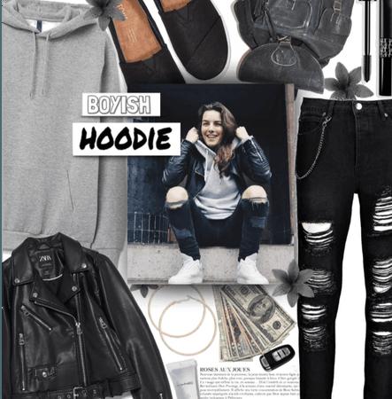 Boyish hoodie