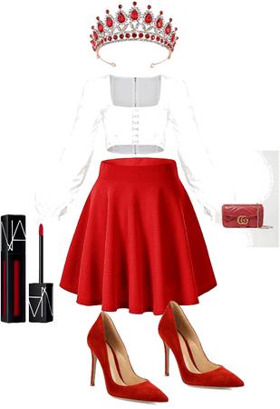 Roman sander outfit