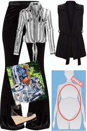 Outfit cuerpo óvalo