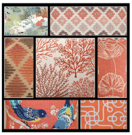 A coral collage