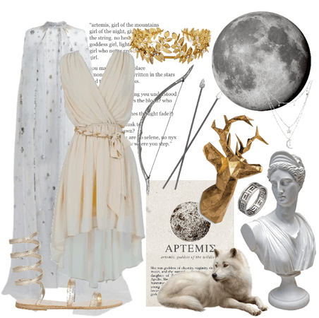 artemis   goddess of the hunt and moon