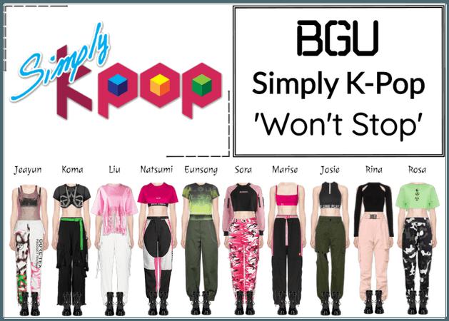 BGU Simply K-Pop 'Won't Stop'