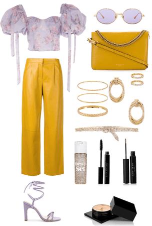 gold lavender