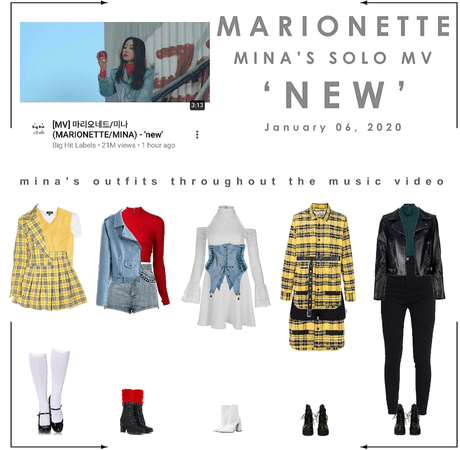 마리오네트 (𝗠𝗔𝗥𝗜𝗢𝗡𝗘𝗧𝗧𝗘) - [MINA] 'new' Music Video