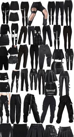 alternative style pants