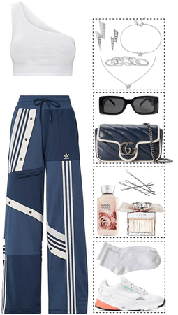 casual, sporty look