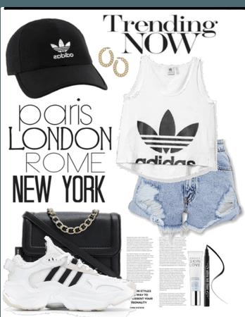 Adidas on the go