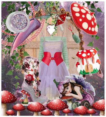Stomping Toadstool ~ Entry to the Fairy World