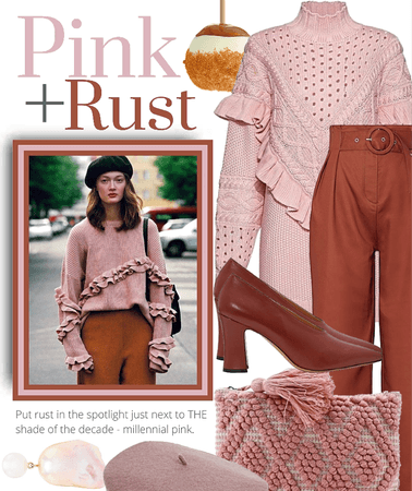 Pink +Rust styling