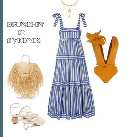 Fancy Mykonos outfit
