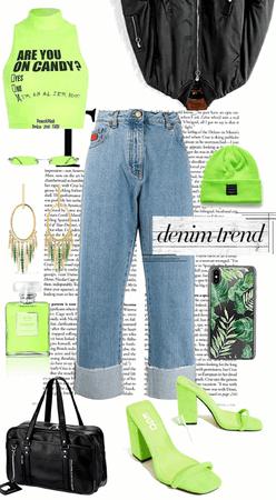Denim Trend : Mom Jeans