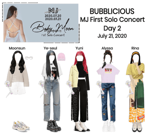 BUBBLICIOUS (신기한) MJ's First Solo Concert