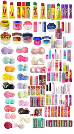 lip balms fave & Daily makeup 1/4