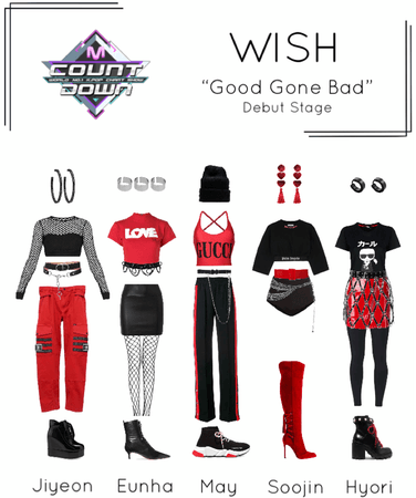 [WISH] M Countdown 'Good Gone Bad' Debut Stage