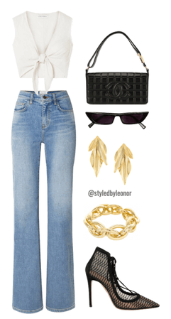 Casual Chic Street Fashion Look