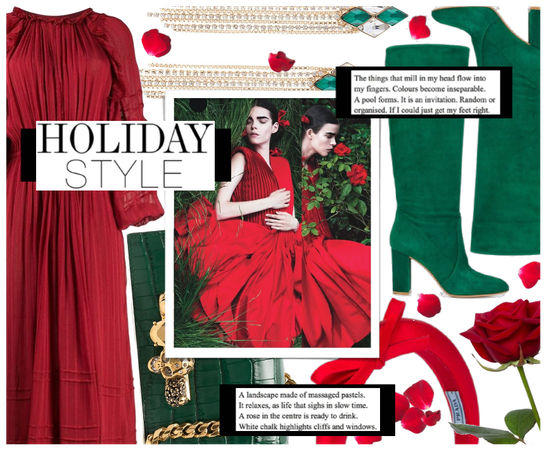 Holiday Trend: Red & Green ( 12.20.2020 )