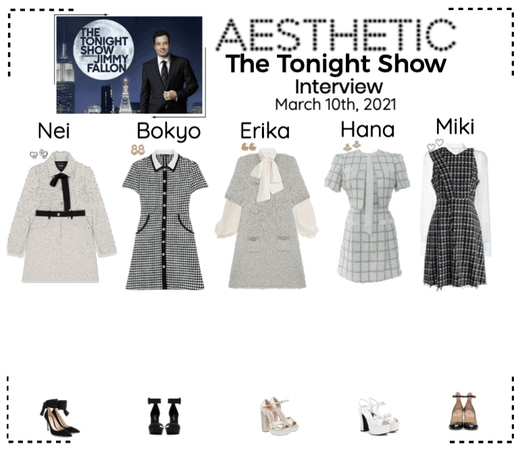 AESTHETIC (미적) [THE TONIGHT SHOW] Interview