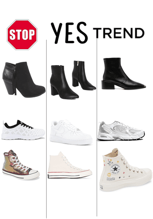 Stop. YES. TREND!