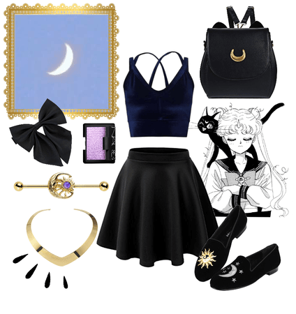 Sailor Moon (Luna): National Moon Day Celebration