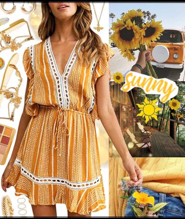 Summer Heat: Yellow & Gold