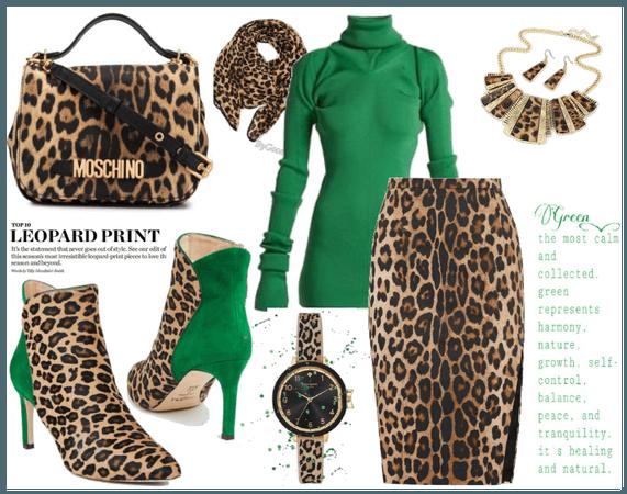 Leopard print noise