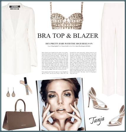 Bra top & Blazer
