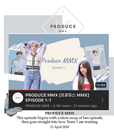 Produce MMX [프로듀스 MMX] Episode 1-1
