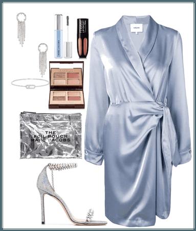 something silver something blue