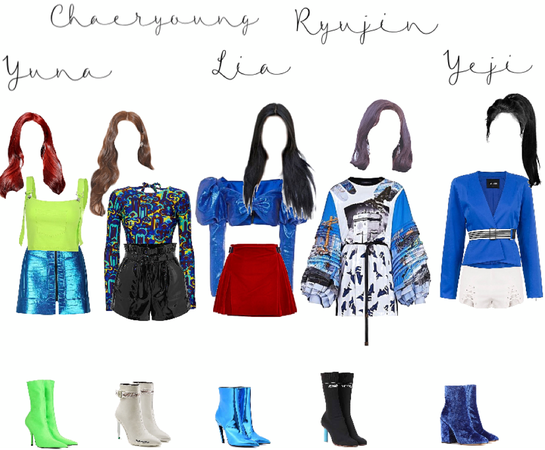 Itzy Icy inspired outfit