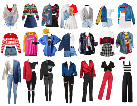 BTS DNA OUTFITS