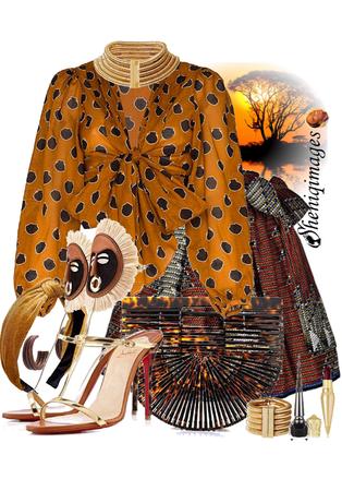 Spirit of Motherland Chic by Sheniq