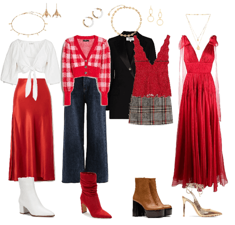 gryffindor inspired outfits