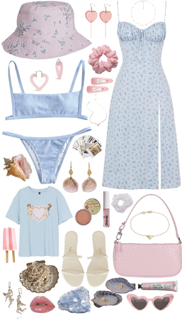 pink and blue summer challenge :D