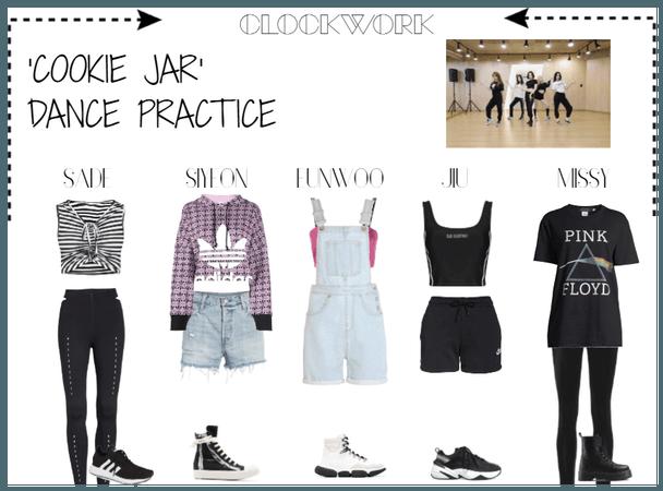 *CWK* | DANCE PRACTICE - 'COOKIE JAR'