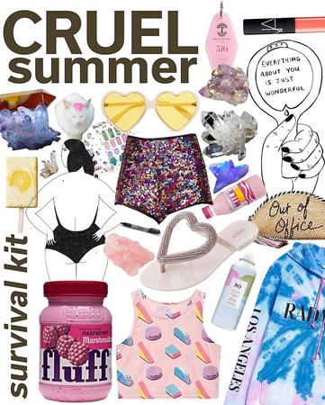 cruel summer survival kit | @chloedesigns22 Contest