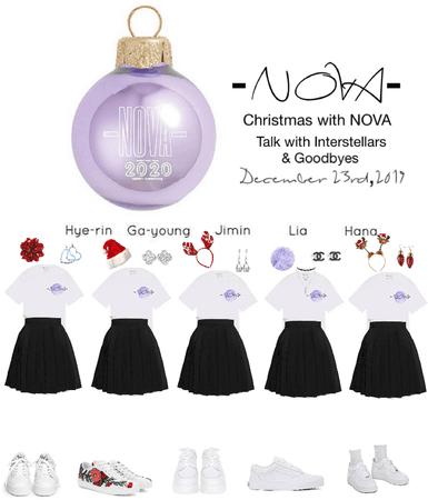 -NOVA- Christmas with NOVA- Goodbyes
