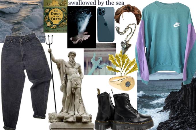 Poseidon aesthetic 🤎 the sea | gods
