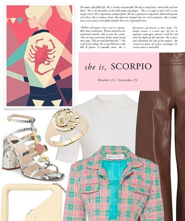 Scorpio in style